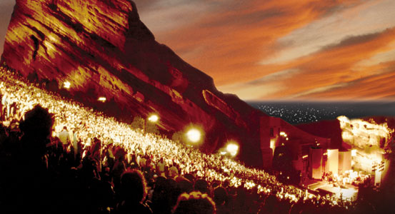 Red Rocks Night