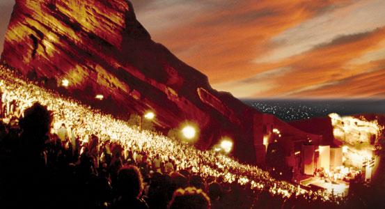 Red Rocks Night